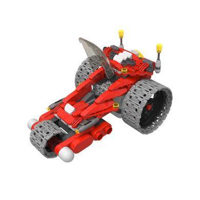 葡萄科技 星際探索系列 遙控車積木玩具特技車 百變布魯可-機甲戰車