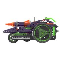 葡萄科技 星际探索系列儿童益智积木玩具搭建多轮履带??爻? 暗夜战车