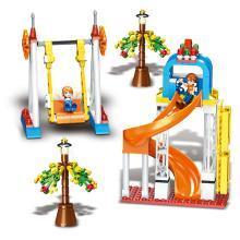 儿童拼装积木早教益智玩具DIY积木拼插积木玩具快乐的回忆TTL1107