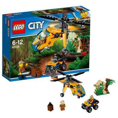 樂高城市組 60158 叢林運輸直升機 LEGO City 積木玩具