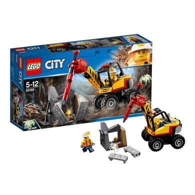 樂高城市組 60185 強力巨石劈裂機 LEGO City 積木玩具