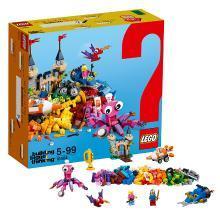 乐高经典创意系列 10404 欢乐海洋 LEGO Classic 积木玩具