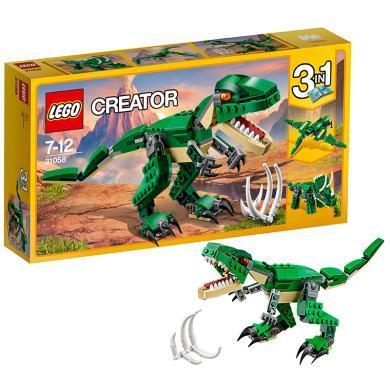 樂高創意百變系列31058 兇猛霸王龍LEGO 積木玩具