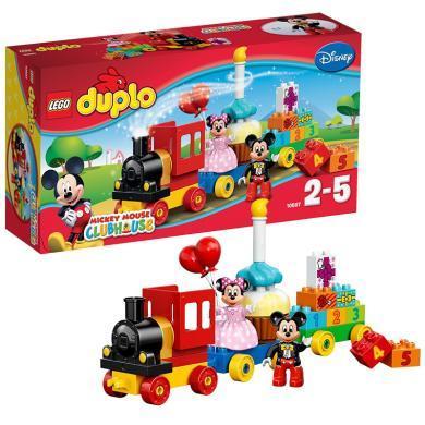 樂高得寶系列10597米奇和米妮的生日派對LEGO DUPLO 積木+拼砌包