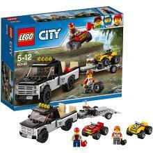 乐高城市组 60148 全地形车赛车队 LEGO City 趣味积木玩具