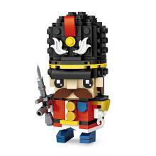 LOZ/俐智迷你小颗粒拼插积木益智玩具6-7-8-10岁男孩子砖头人士兵