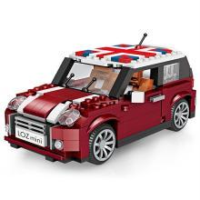LOZ/俐智 小颗粒MINI积木益智拼插儿童玩具男孩6-10-12岁拼装汽车