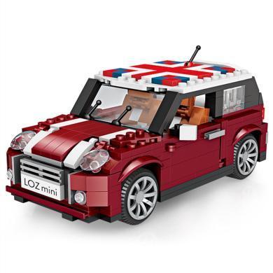 LOZ/俐智 小顆粒MINI積木益智拼插兒童玩具男孩6-10-12歲拼裝汽車