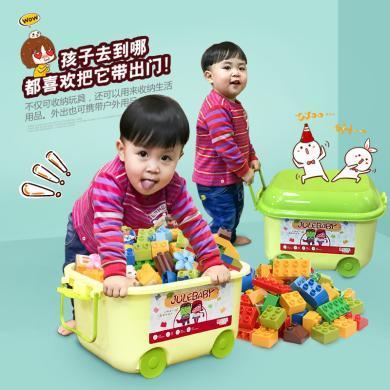 樂心多 寶貝兼容樂高式積木動物拼裝大顆粒 益智兒童早教玩具創意 jmpc01