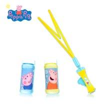 港版小豬佩奇PEPPA PIG粉紅豬小妹佩佩豬可愛兒童手搖吹波水玩具