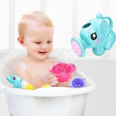 夏季兒童戲水沙灘玩具 浴室洗澡親子互動花樣噴水玩具套