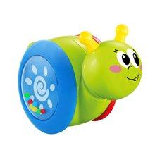 婴侍卫滑行卡通蜗牛 摇摆小蜗牛不倒翁玩具婴儿学爬滑行玩具颜色随机发YSWC242