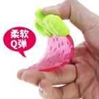 婴侍卫牙胶牙咬婴儿缤纷果乐牙咬玩具婴儿水果咬咬乐0-3岁颜色随机YSWC112