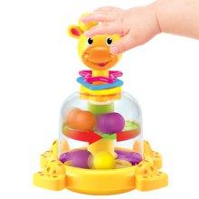 婴侍卫早教益智类婴儿敲打玩具小鹿滚珠压压乐 婴幼宝宝敲打玩具颜色随机YSWC138