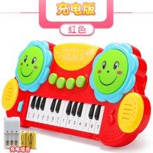 多功能婴儿益智手拍鼓儿童早教玩具电子琴音乐琴鼓拍拍琴鼓YZQD3003