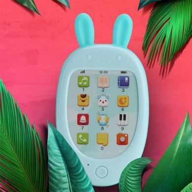 貝恩施寶寶手機玩具 嬰兒兒童觸屏早教益智電話安撫玩具女0-1-3歲