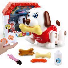 正品斑斑狗 遥控智能宠物 电子宠物 玩具?#25151;?#20048;斑斑狗YZQD80062