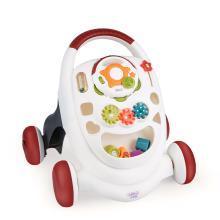 贝恩施婴儿学步车手推车 可调速宝宝助步车防侧翻儿童玩具6-18月