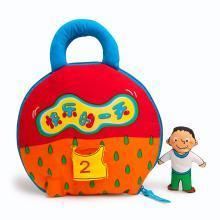 LALABABY 宝宝3D立体布书0-3岁幼儿园启蒙撕不烂早教布书婴儿玩具