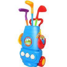 樂心多 兒童室內外親子互動健身球類玩具仿真高爾夫球桿套裝 jswj06