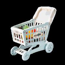 贝恩施儿童?#20449;?#23401;玩具购物车 过家家宝宝厨房套装超市手推车3-6岁