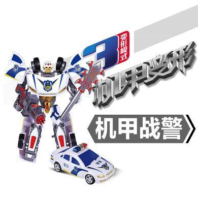 乐心多 儿童变形金刚汽车玩具擎天之柱机甲战警黄蜂汽车机器人模型玩具车 ykdd54