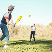 樂心多 兒童體育玩具棒球套裝親子游戲戶外室內運動壘球棍 健身球類玩具 jswj13