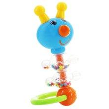 婴侍卫婴儿手摇铃卡通毛毛虫摇铃新生儿婴儿玩具早教益智YSWC128