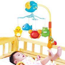 澳贝好动小猴床铃 12首睡眠乐曲 音乐旋转婴儿宝宝安抚哄睡玩具