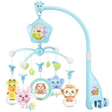 源樂堡品牌直銷爆款安撫新生兒音樂旋轉投影床鈴床頭鈴嬰兒玩具