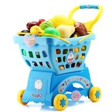 益米仿真兒童過家家手推車寶寶玩具男小女孩超市購物車1-3-6歲