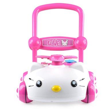 兒童學步車手推車音樂調速可升降防側翻嬰兒童助步6/7-18個月嬰幼兒學步車LD7660