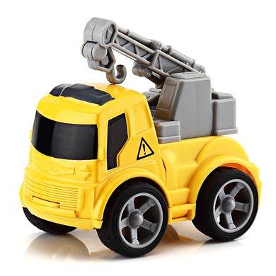 益米儿童合金工程车玩具车套装 男孩耐摔惯性工程车
