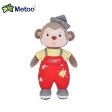 metoo森宝猴公仔抱枕 布娃娃小猴子毛绒玩具