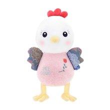 metoo谷谷哒小黄鸡生肖公仔毛绒玩具鸡年吉祥物
