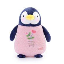 metoo咪兔 企鹅宝宝公仔婴幼儿童安抚陪睡布娃娃玩偶毛绒玩具礼物