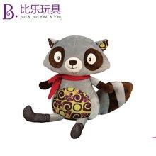 比乐B.Toys会说话的狐狸小浣熊公仔毛绒安抚玩偶儿童益智学语玩具