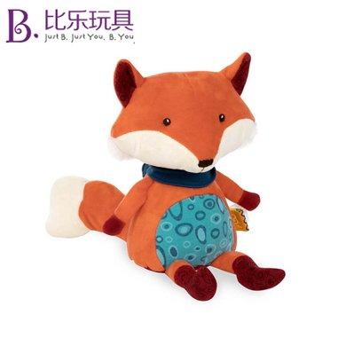 比樂B.Toys會說話的狐貍小浣熊公仔毛絨安撫玩偶兒童益智學語玩具