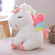可爱独角兽公仔毛绒玩具Unicorn娃娃儿童玩偶40CM抱枕少女心七夕礼物YYT029