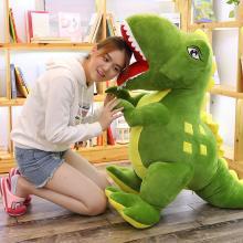 恐龙公仔毛绒玩具大号霸王龙抱枕布娃娃90CM儿童生日礼物男孩YYT032