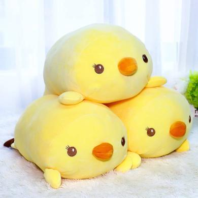 可愛日本小雞毛絨玩具萌玩偶公仔睡覺抱枕兒童布娃娃女孩生日禮物