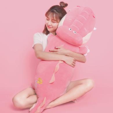鱷魚公仔可愛布娃娃懶人毛絨玩具陪你睡覺抱枕玩偶超軟女長條禮物
