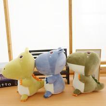 乐心 恐龙毛绒玩具网红公仔河马玩偶小号可爱布娃娃送女孩礼物 mrby46