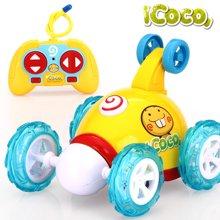 翻斗车遥控车越野车翻滚特技车遥控汽车儿童玩具车充电动