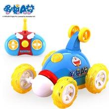 哆啦A夢遙控車翻斗車翻滾車遙控車兒童玩具車充電動模型