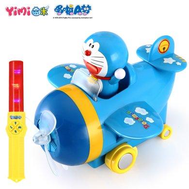 哆啦A夢遙控車 寶寶遙控飛機車重力感應遙控車男孩玩具3歲以上