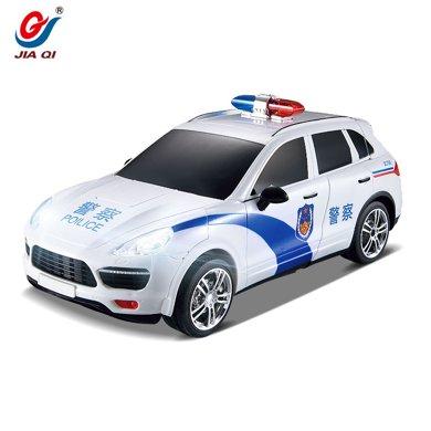 佳奇潜行战警一键变形机器人遥控车带音乐灯光儿童玩具664J92BLX