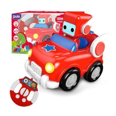 葡萄科技 布鲁可遥控车玩具 迷你儿童卡通无线电动-布?#23478;?#25511;车