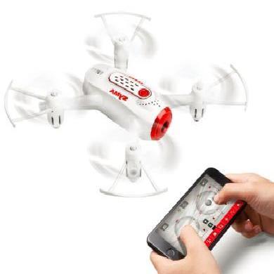 聚優信航模無人機X22W迷你小型四軸飛行器一鍵起飛高定航模航拍玩具