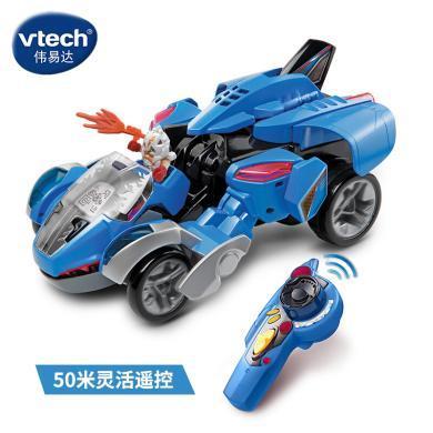 VTech偉易達變形恐龍戰神遙控霸王龍 恐龍玩具 霸王龍 遙控變汽車